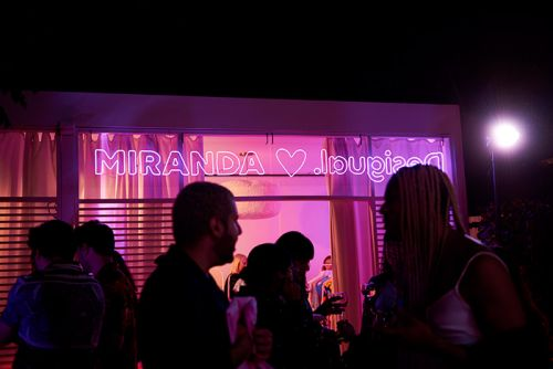 Miranda Hearts Desigual Sexhibition and Capsule Launch with Miranda Makaroff at Nautilus Miami Beach