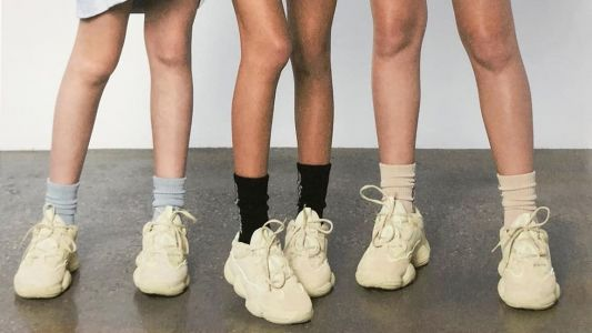 Kanye West Releases Yeezy 500 'Supermoon' Sneaker Campaign On Social Media