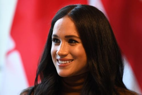 Meghan Markle Wore a Thing: Glemaud Slash Knit Top Edition