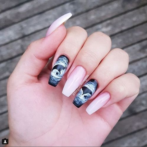 Women Are Celebrating Their Pregnancies With Ultrasound Manicures
