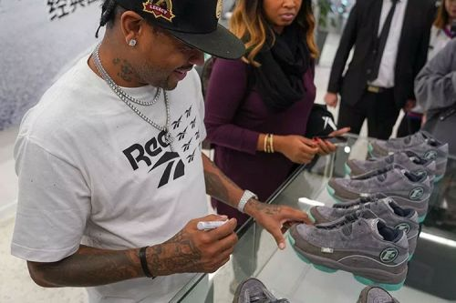 Allen Iverson Unveils Glow-in-the-Dark Reebok Answer 1 in Shanghai