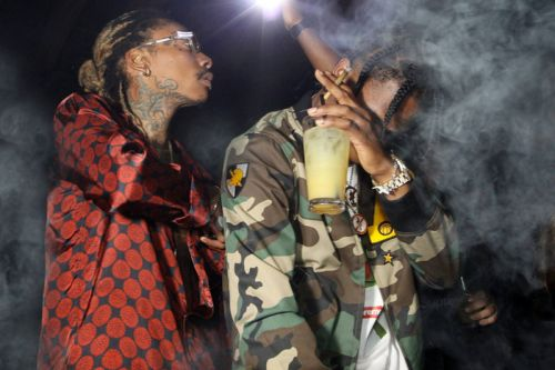 "Wiz Khalifa and Travis Scott Join Forces for ""Trippin'"""