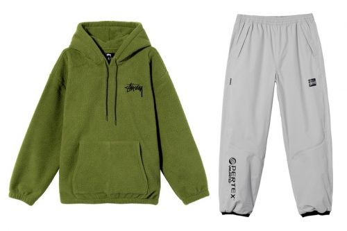Stüssy's Key Spring 2021 Pieces Incorporate Polar Fleece, Pertex and Suede