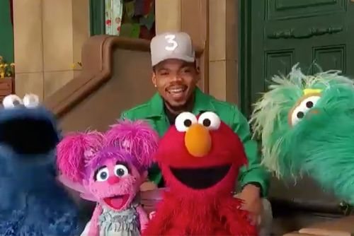 Chance The Rapper Gives Daughter a Shout-Out in 'Sesame Street' Video
