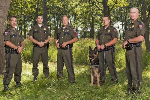 Conservation officers save nature from its worst enemy - mankind