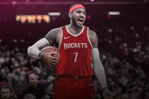 Carmelo Anthony Is Now Officially a Member of the Houston Rockets