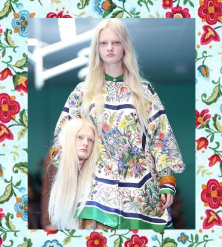 Models carried their own severed heads at Gucci