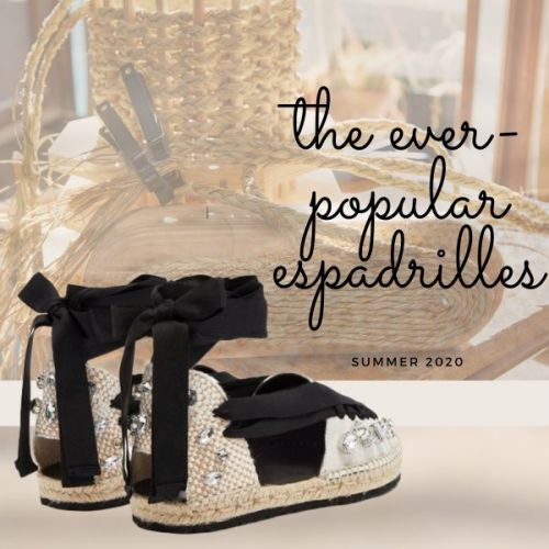 The Ever-Popular Espadrilles