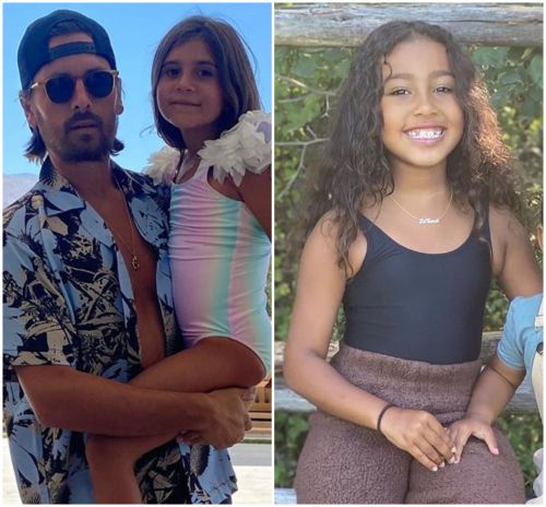 Cool Dad! Scott Disick Hosts Pool Party for Daughter Penelope and Her Cousin North West