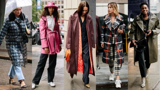 Every Type of Raincoat Imaginable Was Present on Day 4 of New York Fashion Week