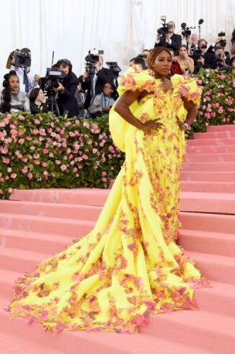 Serena Williams Wore Sneakers to the Met Gala and Looked