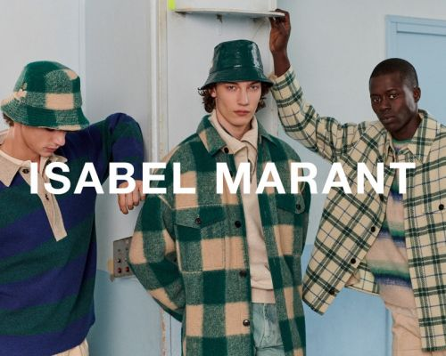 Freek, Leon + More Embrace Collegiate Style in Isabel Marant