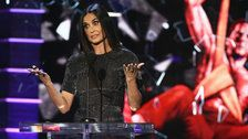 Demi Moore Destroys Bruce Willis In Surprise Roast Appearance