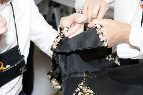 Taken from Issue Two of 10+: The Women of the Chanel Haute Couture Ateliers