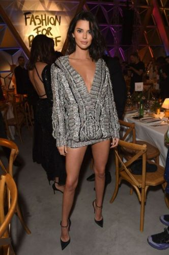Kendall Jenner Goes Pant-less in FranceThe supermodel rocks
