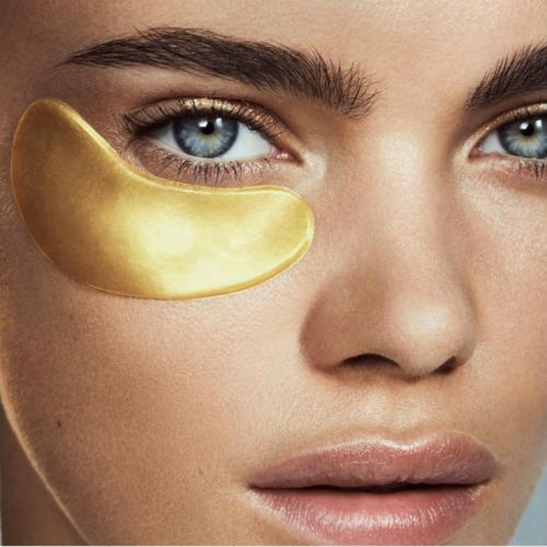 There's A Reason So Many Celebrities Are Snapping Selfies In Gold Under-Eye Masks