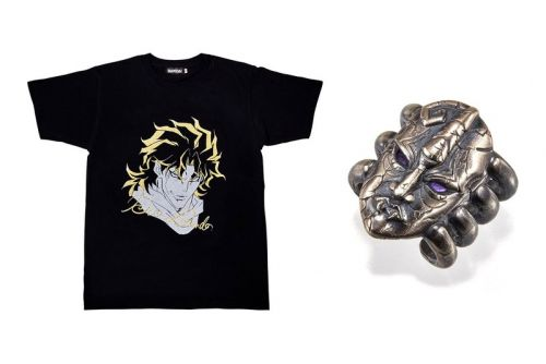Iconic 'Jojo's Bizarre Adventure' Characters Are Memorialized on Faux Tour T-Shirts