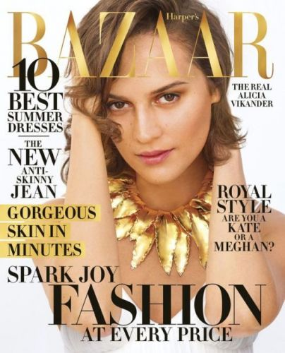 Alicia Vikander Leaps to New Heights-in Life and FashionThe