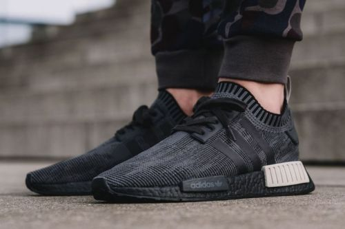 """Adidas' NMD R1 Primeknit """"Core Black and Sesame"""" Receives Release Date"""