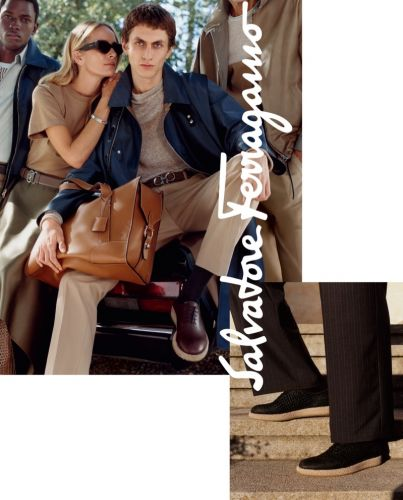 Salvatore Ferragamo Takes to Rome for Spring '19 Campaign