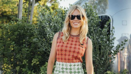 Sienna Miller Looked Like the Coolest Girl at Prep School in Gucci