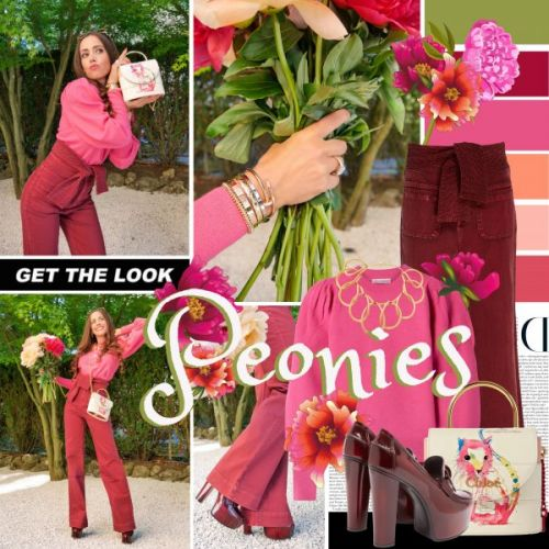 My Look: Peonies