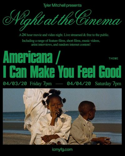 Tyler Mitchell launches 24-hour online film festival, Night at the Cinema