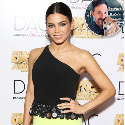 Too Cute! Jenna Dewan and Steve Kazee Celebrate the 1-Year Anniversary of Adopting Their Dog