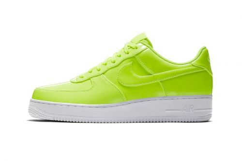 Nike's Air Force 1 Low Gets a Vibrant Patent Leather Makeover