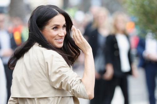 Meghan Markle Proudly Rocks A Handmade Pasta Necklace Gifted To Her By A Young Fan