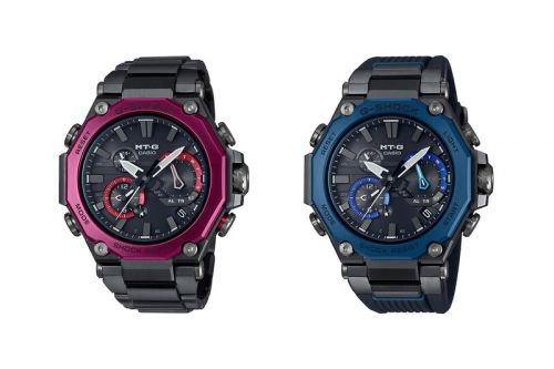 Casio's New MT-G Combines a 12-Sided Metal Bezel With a Carbon Core