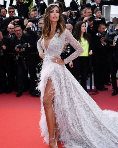 Glamorous Romanian actress Madalina Diana Ghenea looked radiant