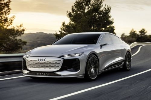 Audi's A6 e-tron Concept Explores the Future of Electric Cars