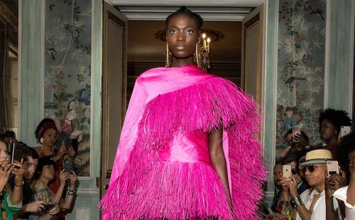 """Imane Ayissi: """"Africa is no longer excluded from international fashion"""""""