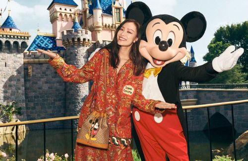 Gucci's New Harmony Korine-Shot Campaign Stars Mickey Mouse