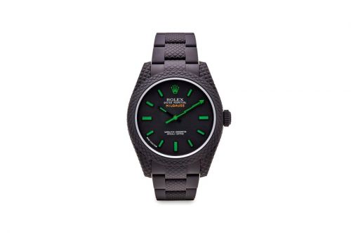 MAD Paris Drops Scaly, Green Lightning Bolt-Equipped Rolex Milgauss and More