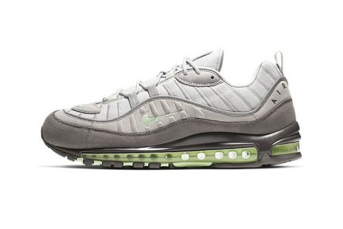 """Nike's Air Max 98 """"Vast Grey/Fresh Mint"""" Is the Ultimate Daily Sneaker"""