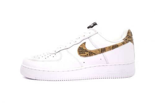 "Nike is Reviving the 1996 Asia Exclusive Air Force 1 Low Premium ""Ivory Snake"""