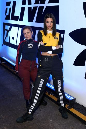 Kendall Jenner & Olivia Oblanc host launch for new adidas Originals collab