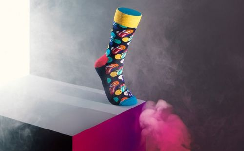 Happy Socks collaborates with The Rolling Stonres