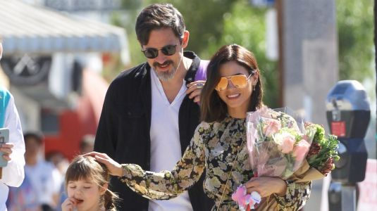 Jenna Dewan Looks Like Spring While Out With Her BF Steve Kazee and Her Daughter In L.A
