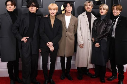 BTS Named Global Artists of the Year in 2020