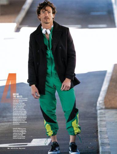 Top Coats: Parker for Men's Health South Africa