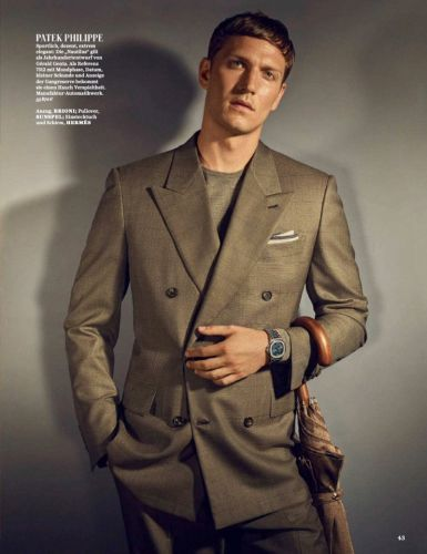 Peter Bruder Dons Fine Watches for GQ Germany