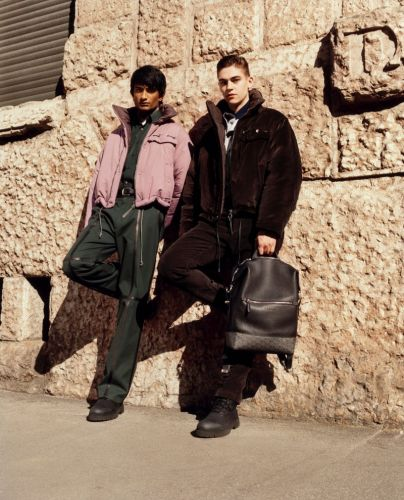 Hero Fiennes-Tiffin, Rishi Robin & Jonas Mason Star in Salvatore Ferragamo Fall '19 Campaign
