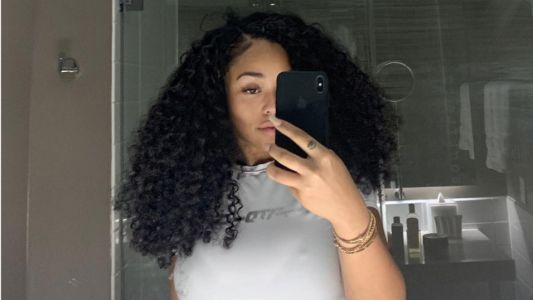 Yas Girl! Jordyn Woods Shares the Cutest Natural Hair Pics While Chillin' in NOLA
