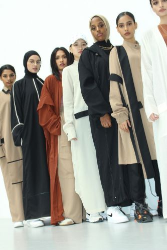 Saeedah Haque is the VFILES designer creating streetwear-inspired abayas