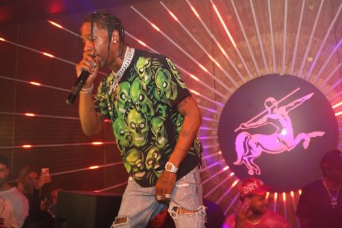 Watch Travis Scott Perform During All-Star Weekend
