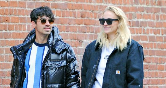 Joe Jonas and Sophie Turner Show Off Their Impeccable Street Style While Strolling in NYC