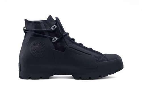 Converse and A-COLD-WALL* Drop All-Black Chuck Taylor Lugged